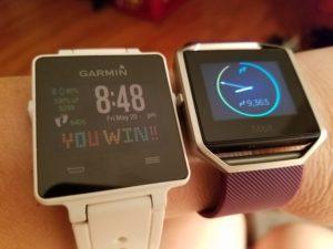 Garmin Vivoactive vs Fitbit Blaze