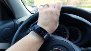 GearFit2 on wrist
