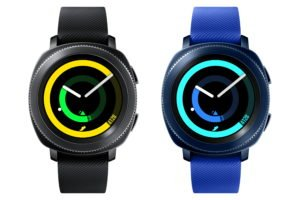 Samsung Gear Sport available in Black or Blue