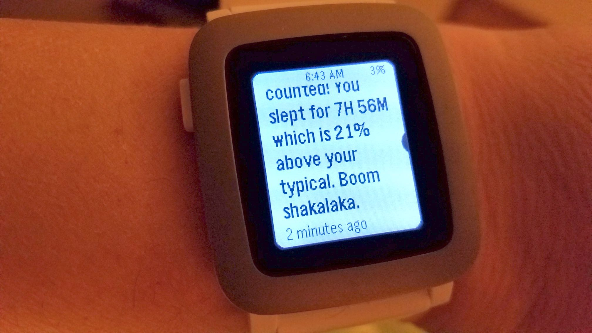 Will The Amazfit Bip Amaze Me Like Pebble Time Journier Smartwatch Red Sleep Tracking Message Boomshakalaka