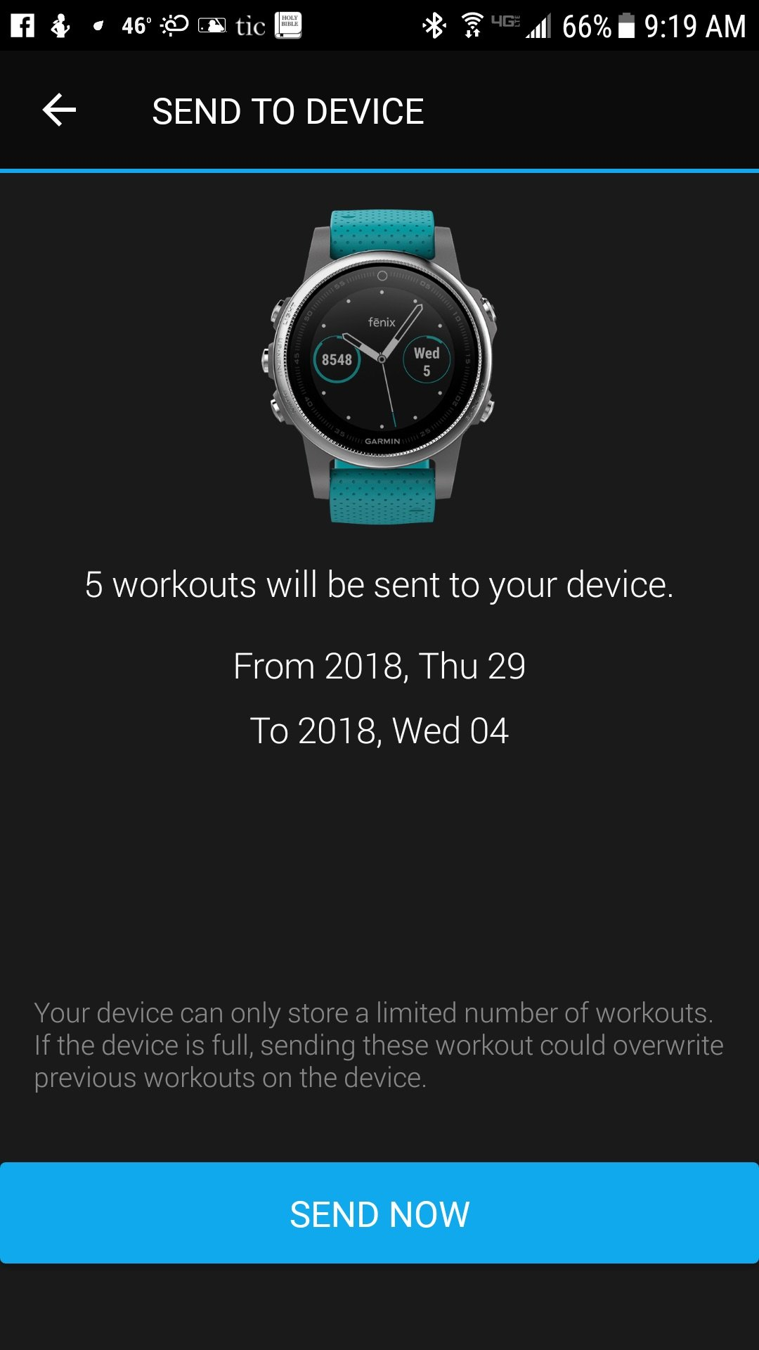 How to Add Custom Workouts to the Fenix 5s | The Journier