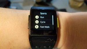 P1 GPS Sportswatch