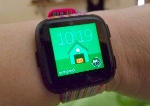 Fitbit Versa Timmy Clock