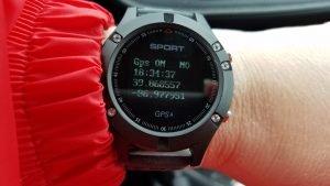 GPS Coordinates on Watch