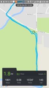 Diggro DB-05 GPS Distance Estimate