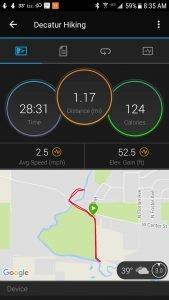 Garman Fenix 5s GPS Distance Estimate