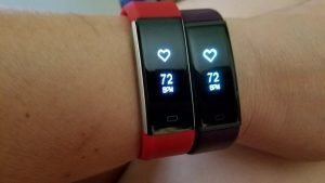 Heart rate sensor comparison