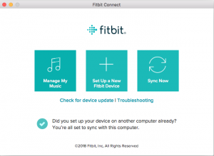 Fitbit Connect App