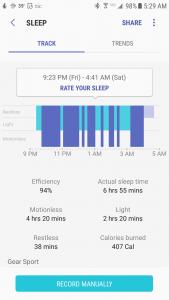 P1 GPS Sportswatch Sleep Tracking