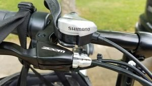 Shimano 7-speed shifter