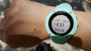 Suunto Spartan Trainer WHR's very readable screen