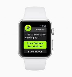 Workout Detection