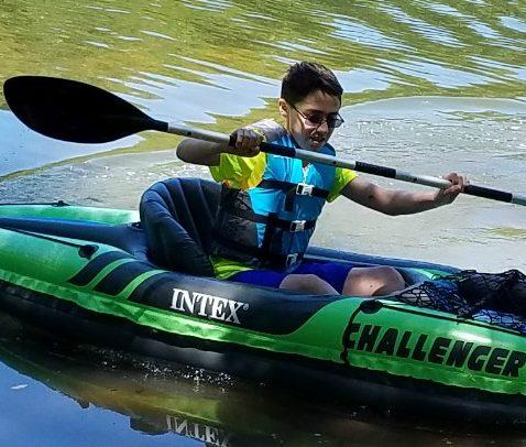 Having Fun With the Intex Challenger K1 Kayak and Explorer