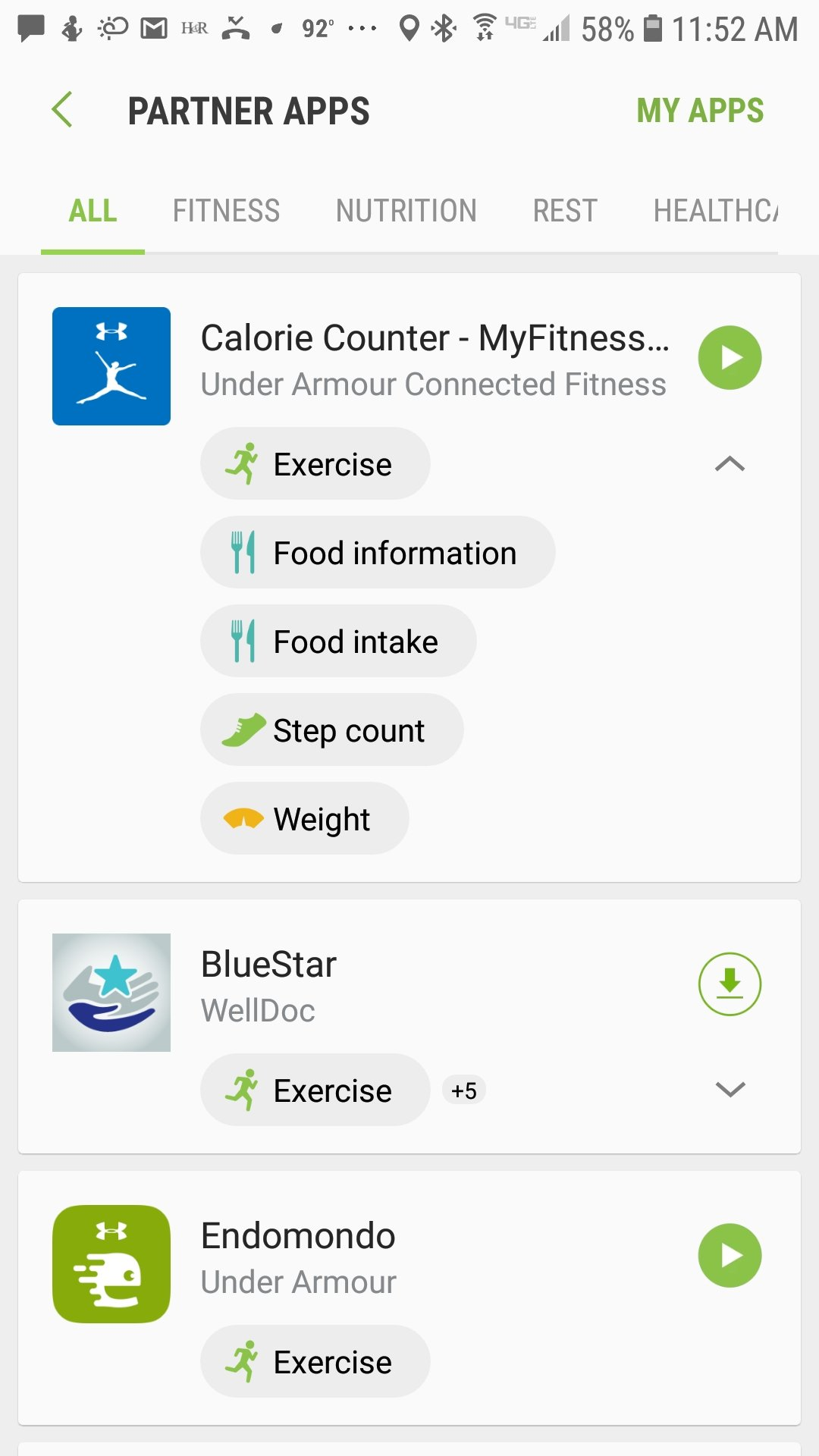 Syncing the Gear Sport to MyFitnessPal Tips & More | The