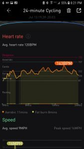 Ticwatch Pro Heart Rate Data
