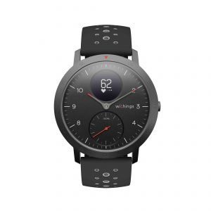 Improved dial and sporty look of the Withings Steel HR Sport hybrid smartwatch