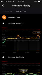 Sport heart rate