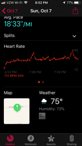 Apple Watch Series 4 Heart Rate Estimate