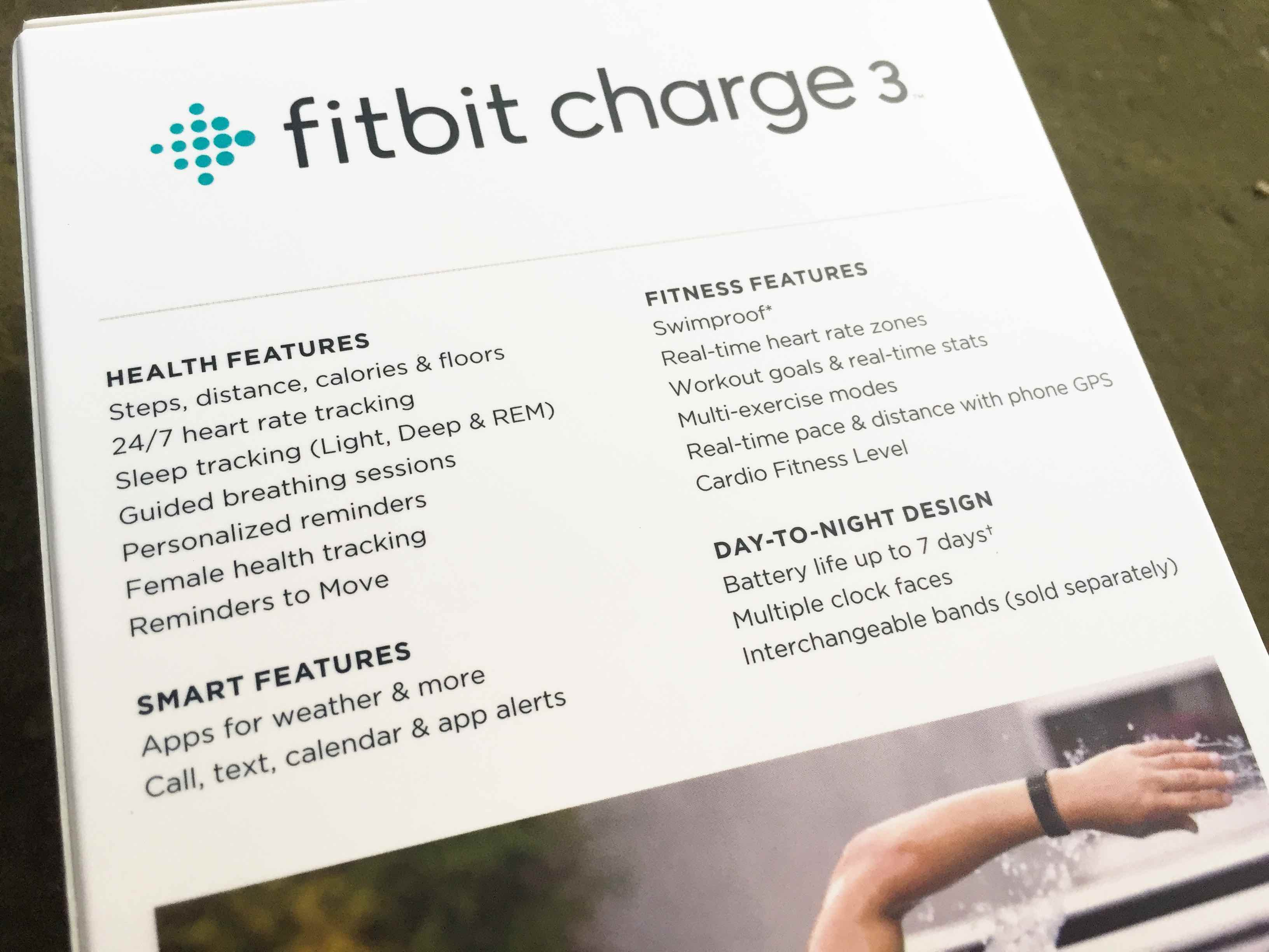 Fitbit Charge 3 Setup, First Heart Rate and Sleep Tracking