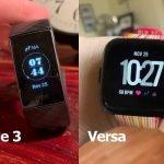 Charge 3 vs. Versa