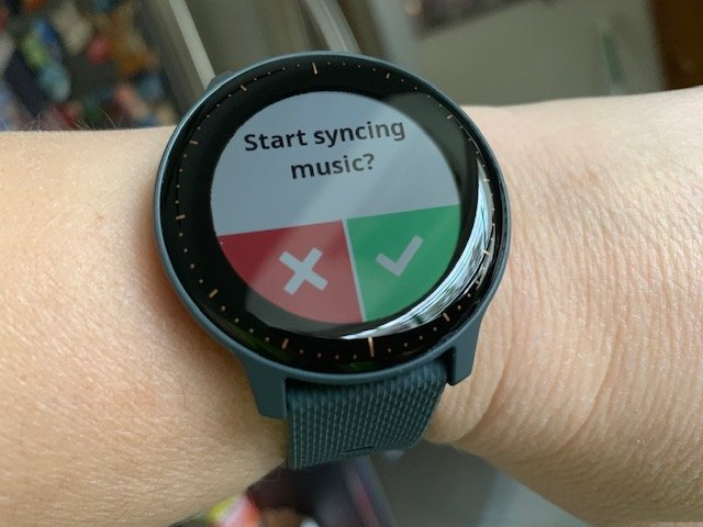 Learning How to Use the Vivoactive 3 Music and More   The