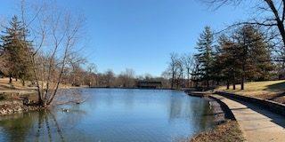 The pond I walked around (Fairview Park)
