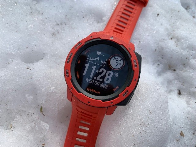 The Garmin Instinct - Military Grade Durability to withstand extreme temperatures and outdoor conditions