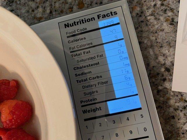 Greater Goods Nourish Digital Kitchen Scale