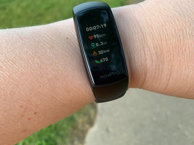 MorePro HRV Fitness Tracker Review – A Tracker That Detects