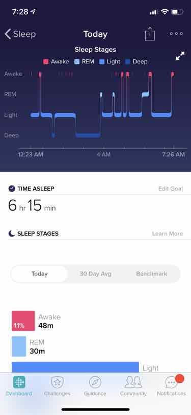 fitbit inspire hr sleep tracking