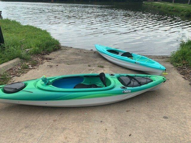 Pelican Trailblazer 100 NXT Kayak versus Pelican Mustang