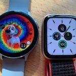 Samsung Galaxy Watch Active 2 versus Apple Watch Series 5