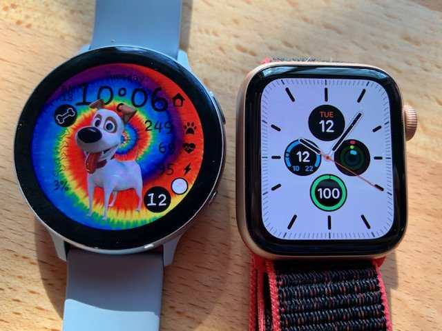Samsung Galaxy Watch Active 2 Vs Apple Watch Series 4 Shop Clothing Shoes Online