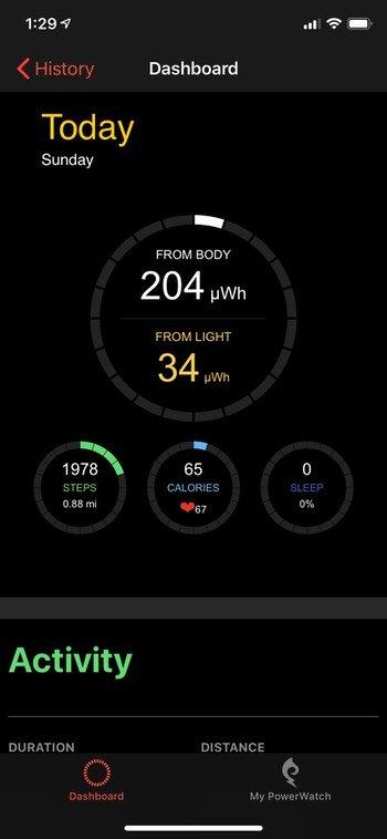 PowerWatch 2 app