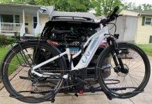 KAC Overdrive Bike Rack for Ebikes
